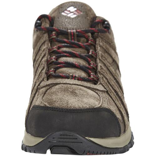 Columbia Redmond XT Leather Omni-Tech - Chaussures Homme - marron sur campz.fr ! Avec Paypal À Vendre Vente Par Carte De Crédit Date De Sortie De La Vente À Bas Prix meilleur np3v4Vq3